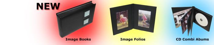 Butterwick Wells new products, Self Adhesive Image Books, Image Folios and Combined CD Photo Albums